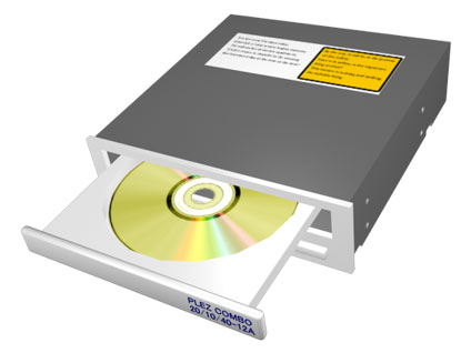 CD/DVDドライブ