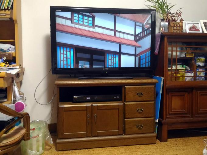 スマホのYouTubeの画面をテレビにキャストしてみました