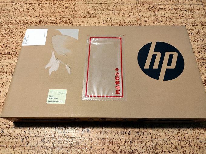 HP17インチノートパソコン