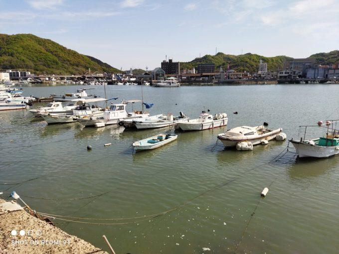 港の風景 標準で撮影