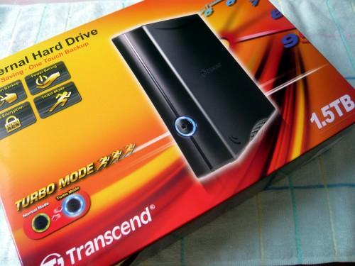 外付けHDD(StoreJet35T)